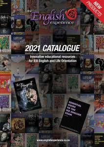 English Experience Catalogue - 2021 - Front Cover